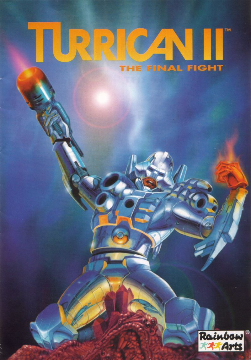 Turrican II: The Final Fight DOS Manual Front
