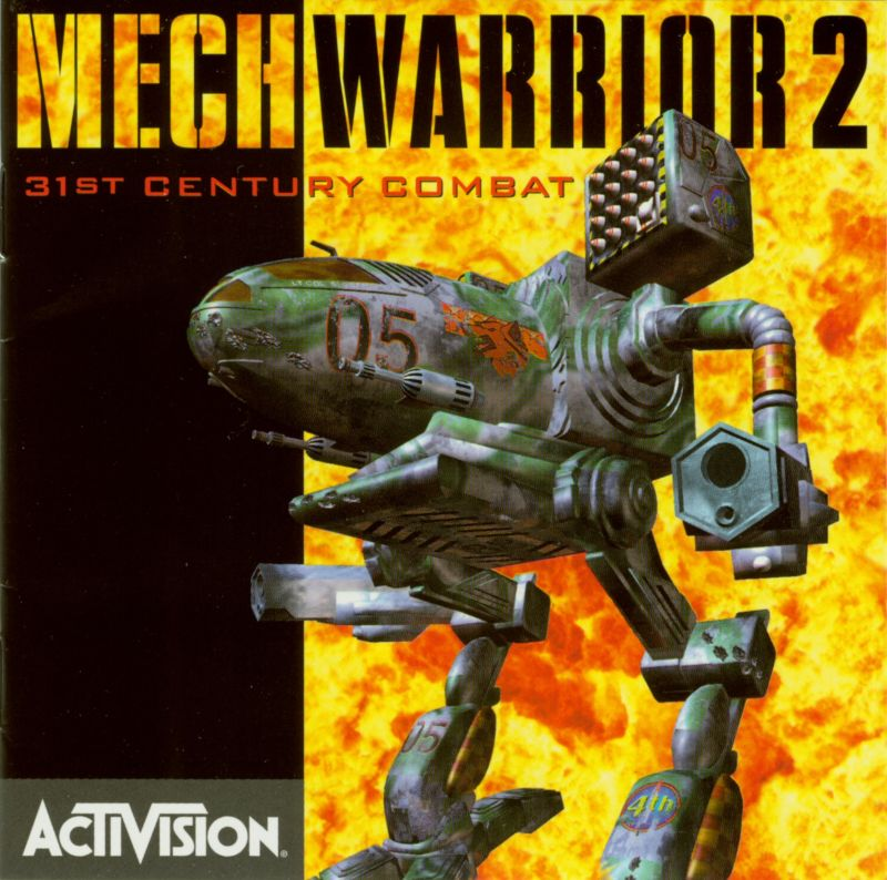 MechWarrior 2: 31st Century Combat DOS Other Jewel Case - Front