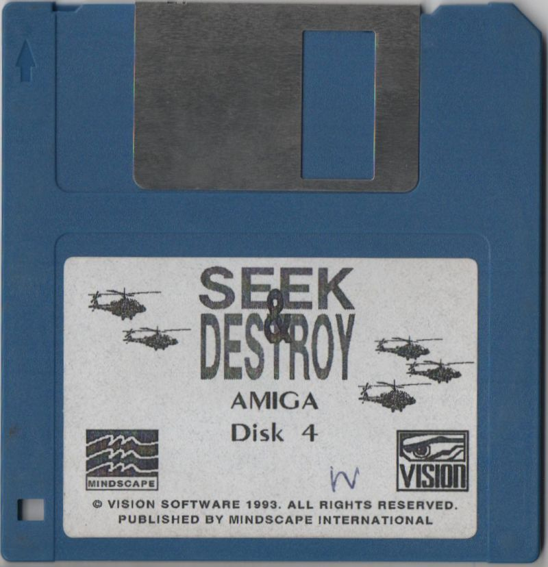 Seek and Destroy Amiga Media Disk 4
