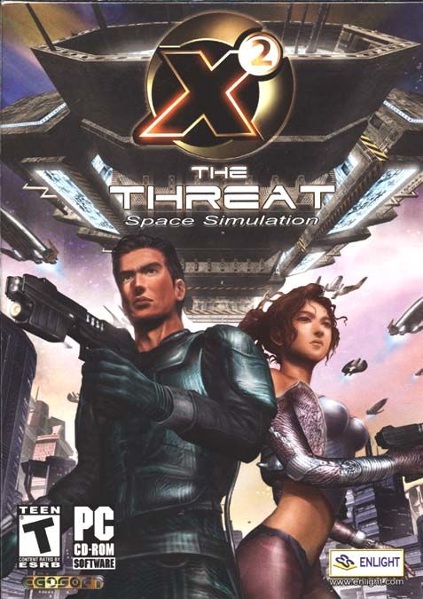 X²: The Threat Windows Front Cover