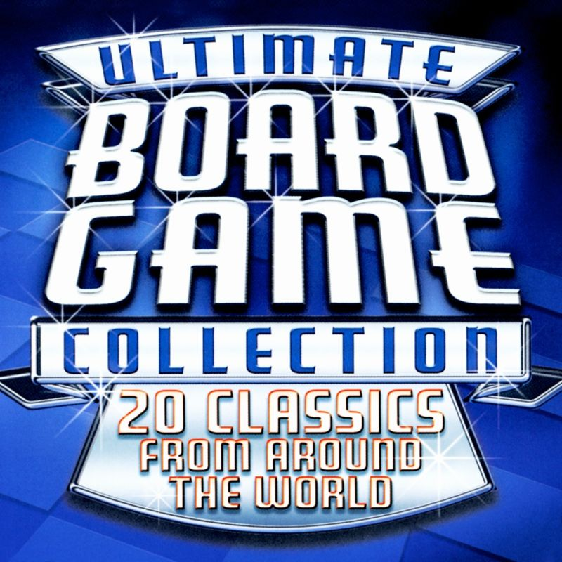 Ultimate Board Game Collection PlayStation 3 Front Cover