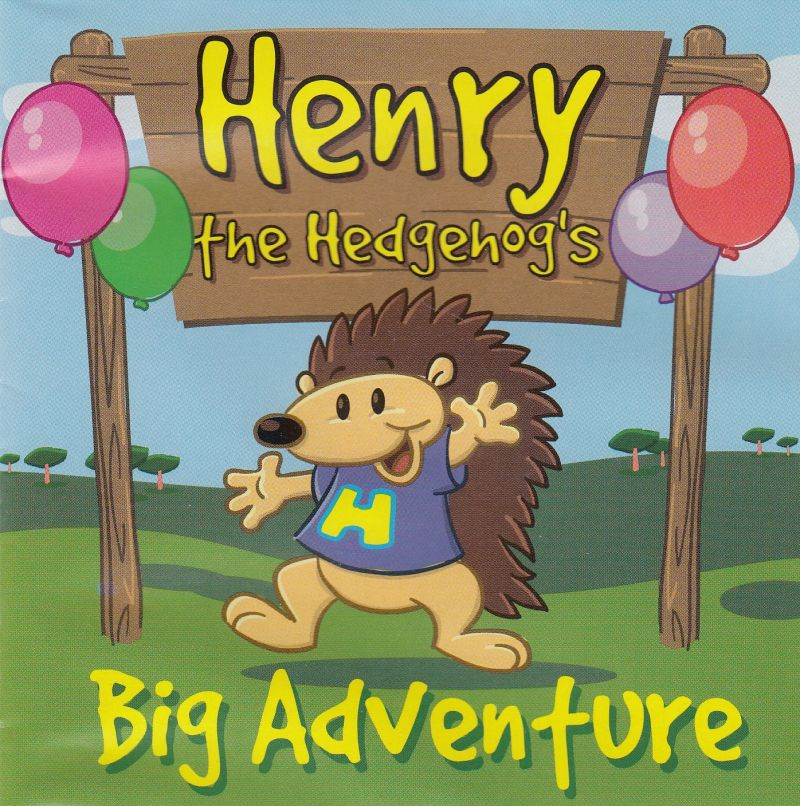 Henry the Hedgehog's Big Adventure Macintosh Front Cover