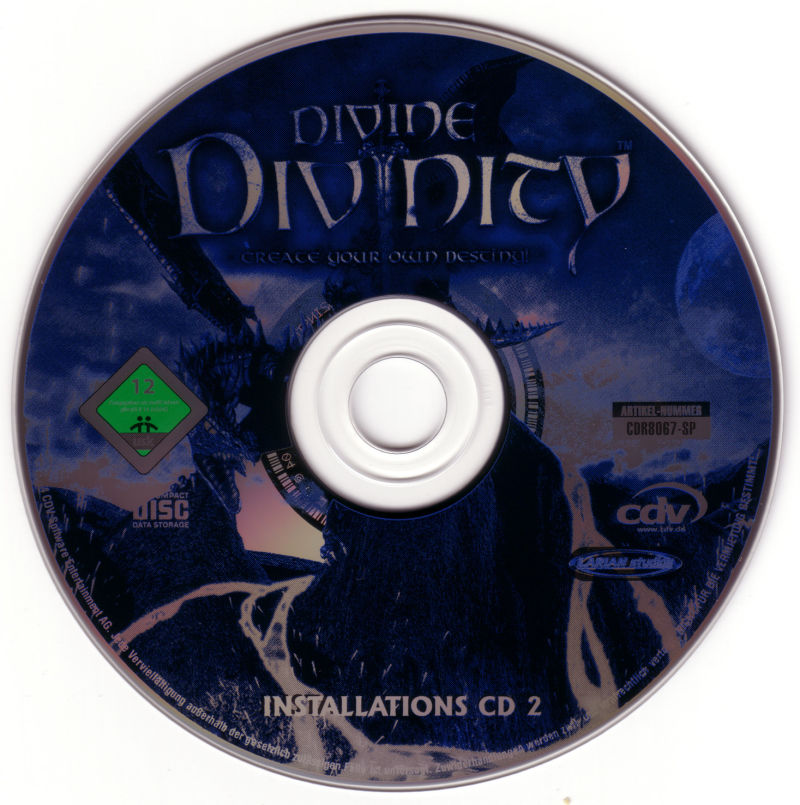 Divine Divinity Windows Media Disc 2
