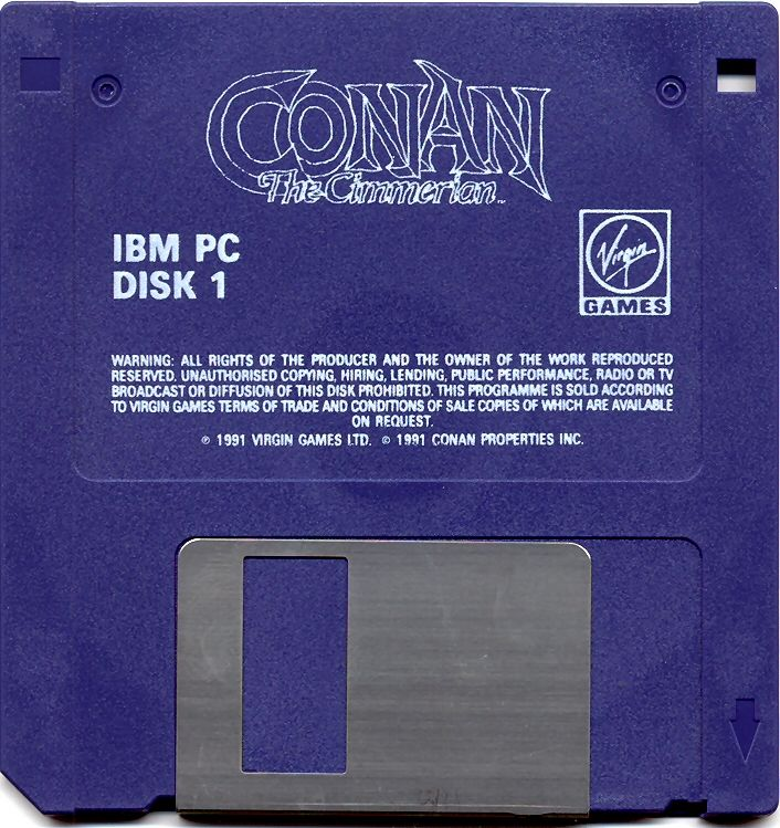Conan: The Cimmerian DOS Media Disk 1/6
