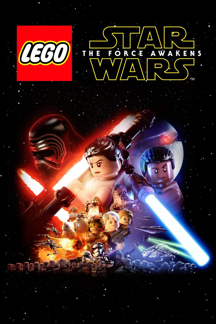 lego star wars the force awakens for xbox one 2016. Black Bedroom Furniture Sets. Home Design Ideas