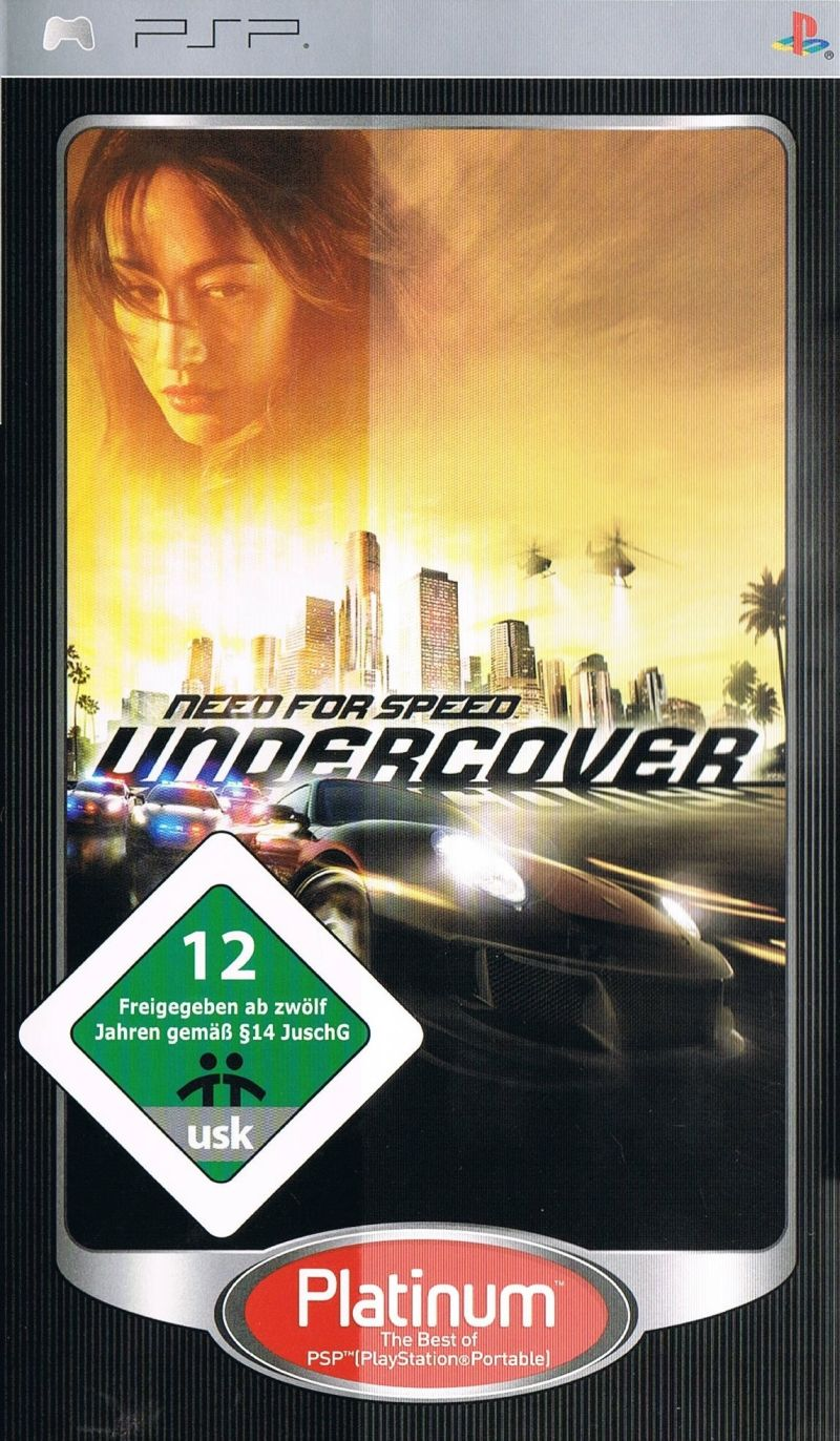 Need for Speed: Undercover PSP/Download Game