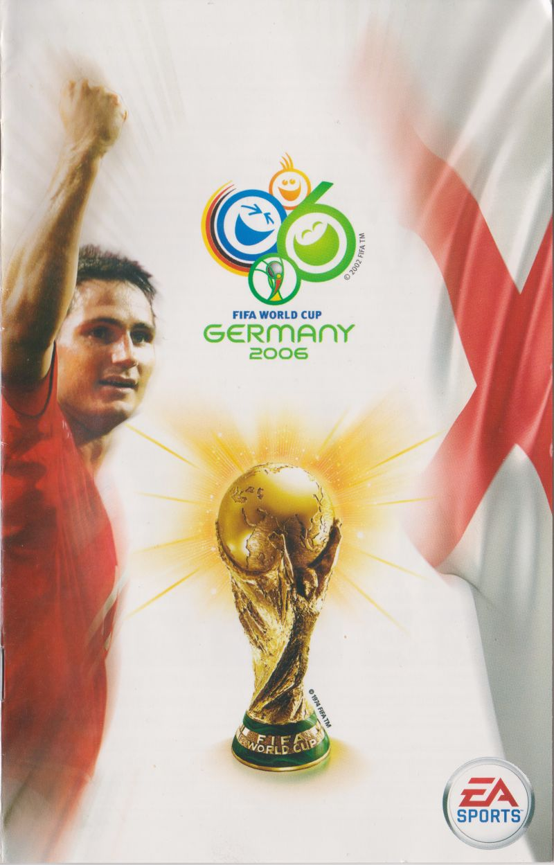 FIFA World Cup: Germany 2006 PlayStation 2 Manual Front