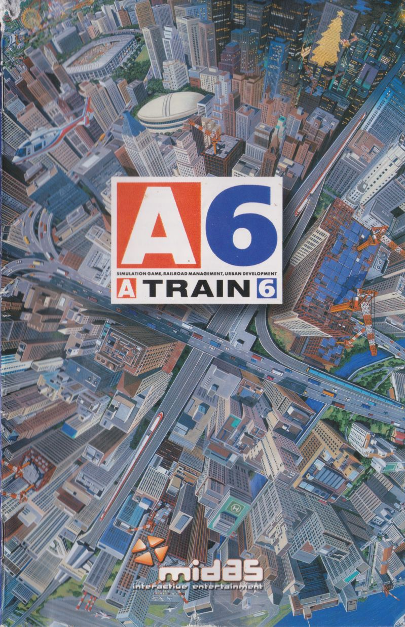 A Train 6 PlayStation 2 Manual Front
