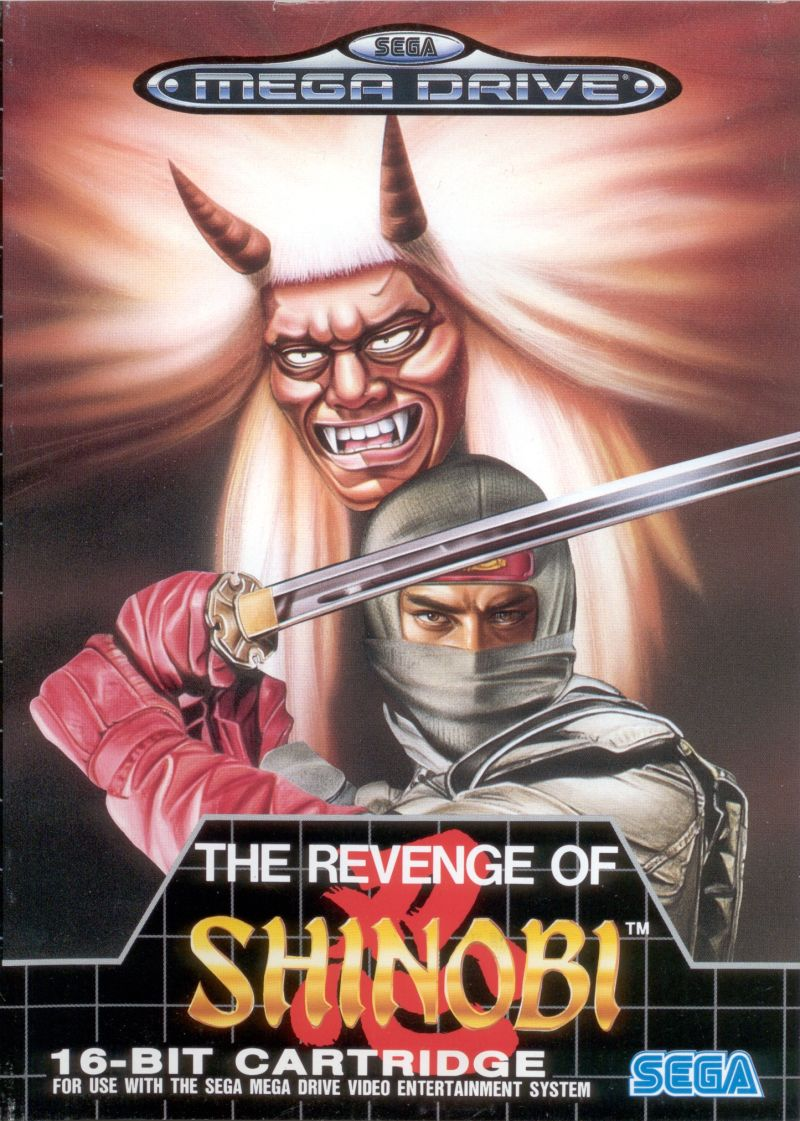 The Revenge of Shinobi Genesis Front Cover