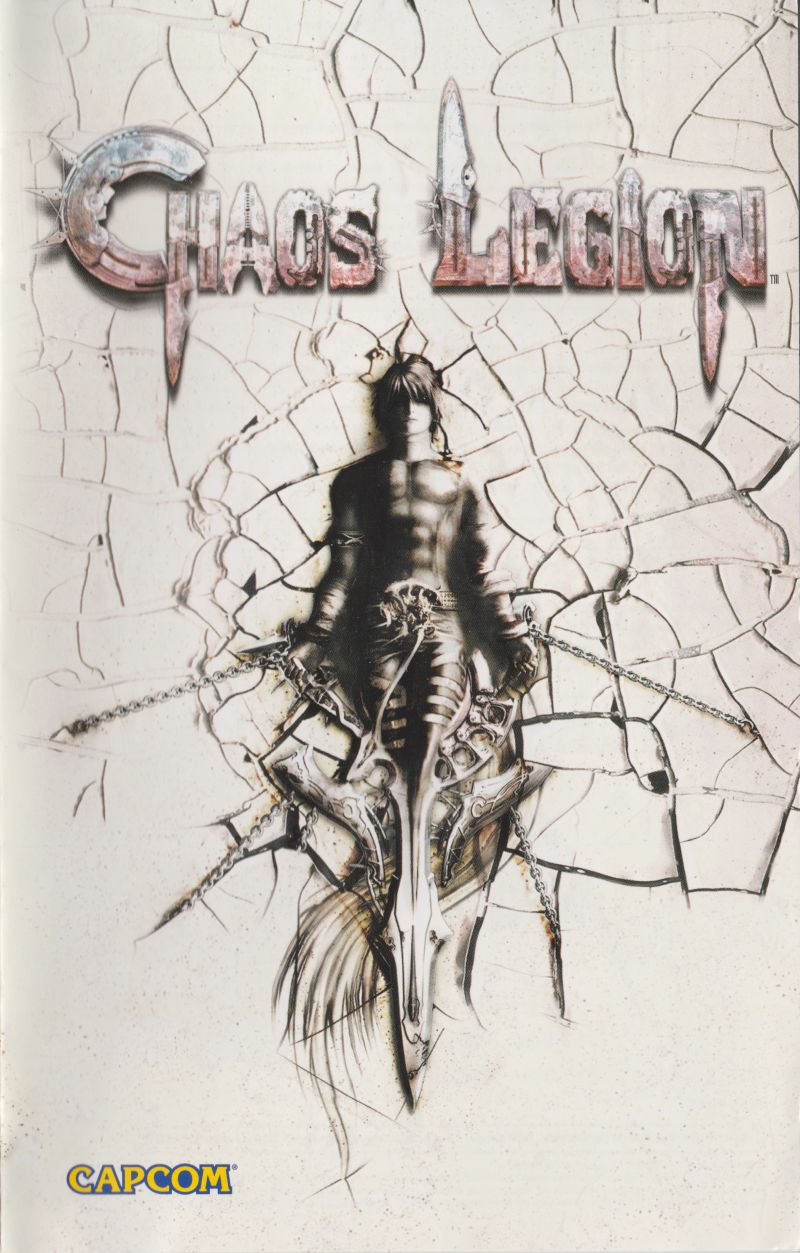 Chaos Legion PlayStation 2 Manual Front