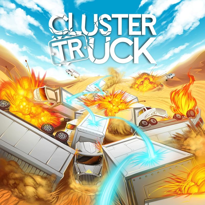 Clustertruck PlayStation 4 Front Cover