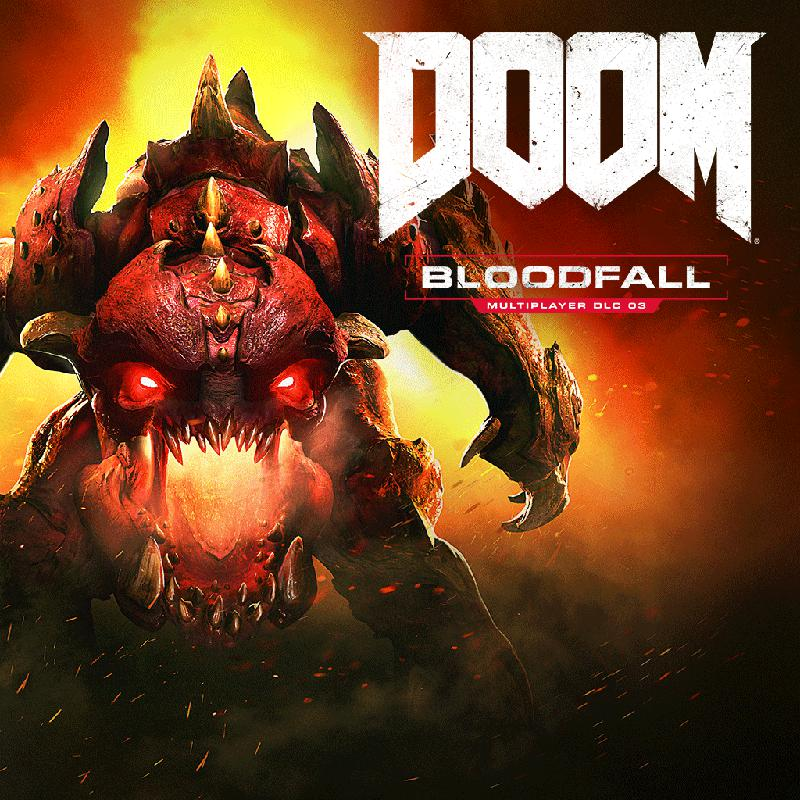 DOOM: Bloodfall PlayStation 4 Front Cover