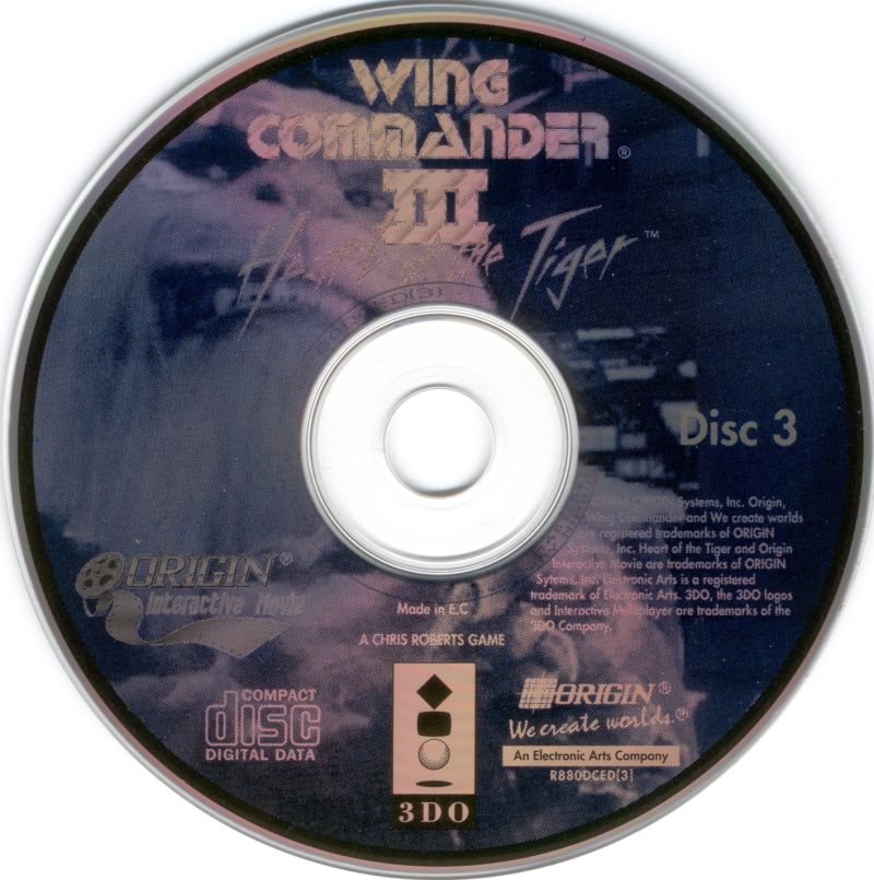 wing commander 3 3do