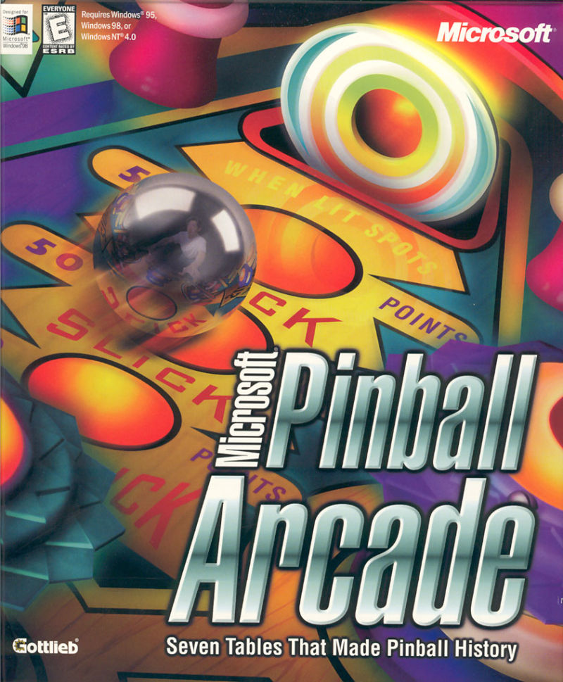 Pinball arcade (1998) pc review and full download   old pc gaming.
