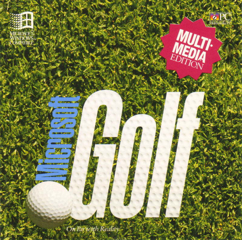 Microsoft Golf: Multimedia Edition Windows 3.x Front Cover