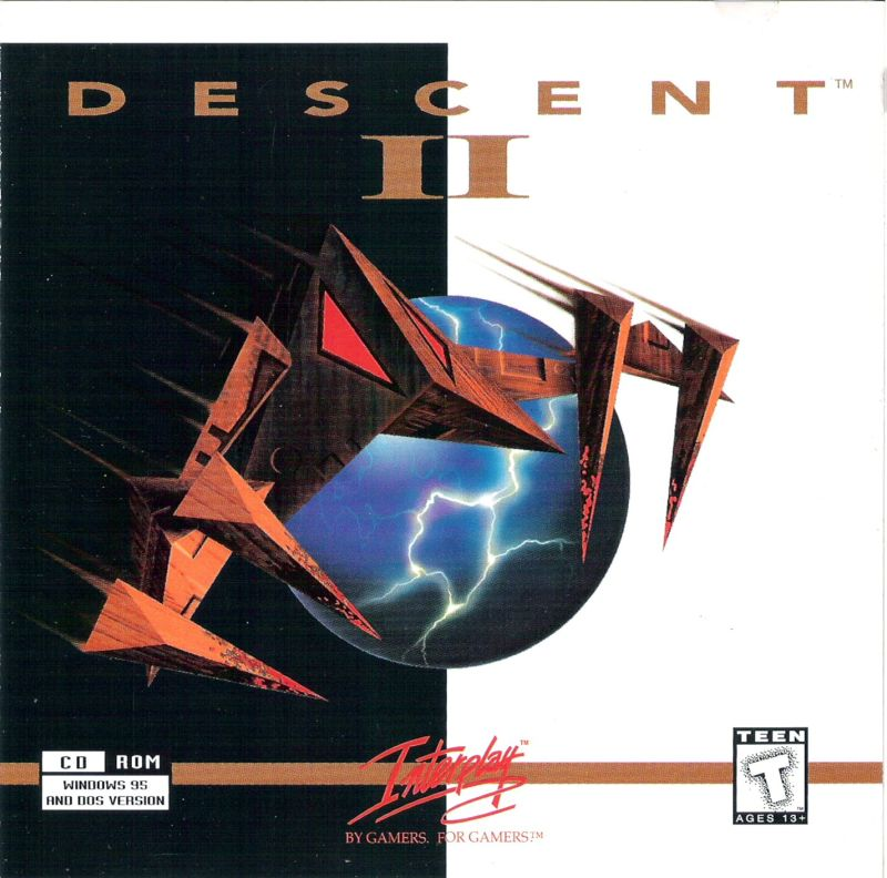 Descent II DOS Other Jewel Case - Front