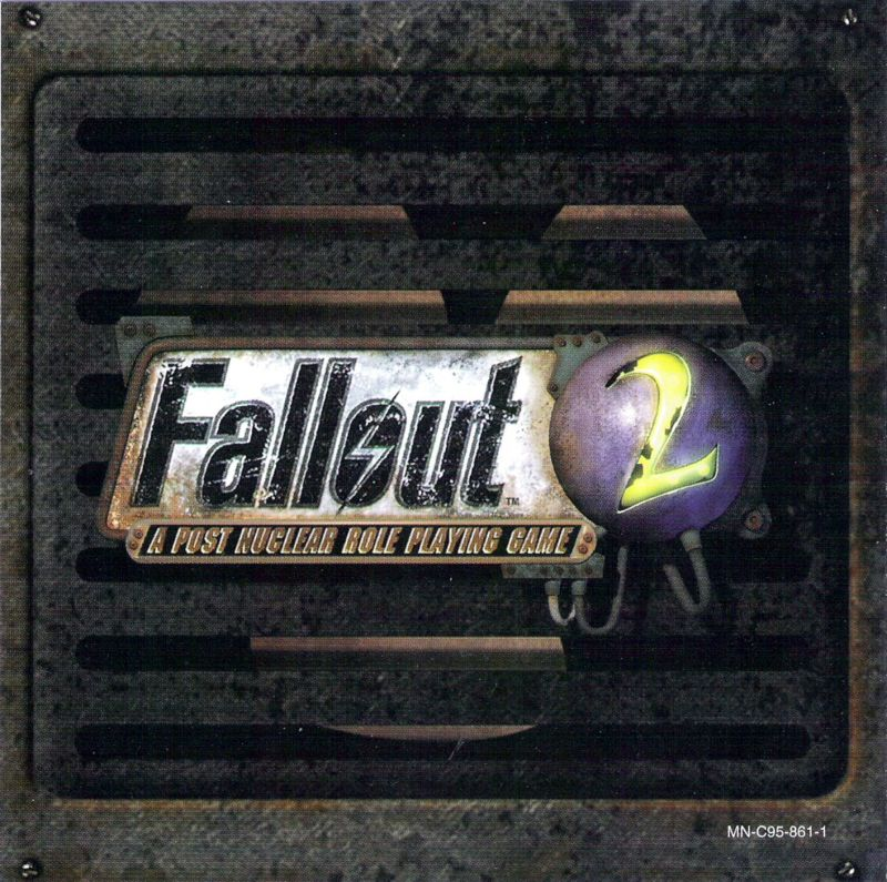 Fallout 2 Windows Other Jewel Case - Left Inlay