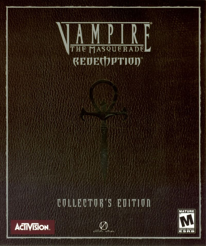 Vampire: The Masquerade - Redemption (Collector's Edition) Windows Front Cover