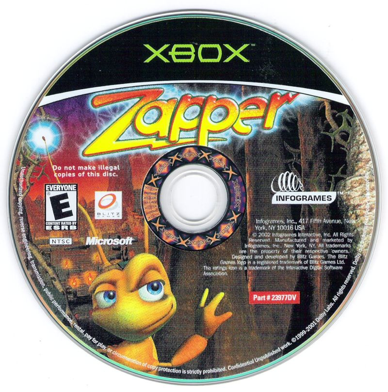 Zapper: One Wicked Cricket! Xbox Media