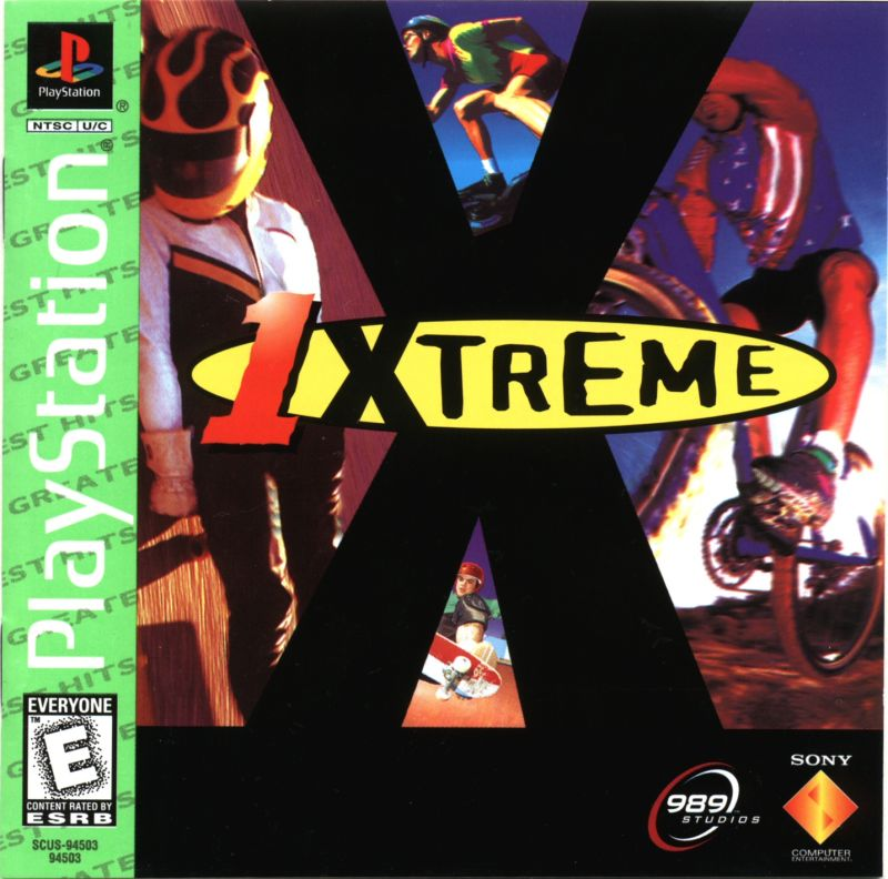 ESPN Extreme Games PlayStation Front Cover