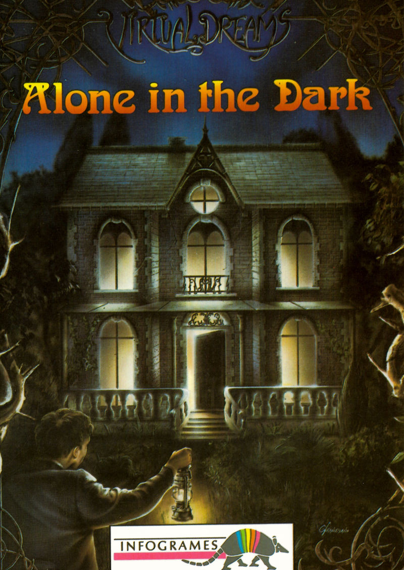 Alone In The Dark 1992 Dos Box Cover Art Mobygames