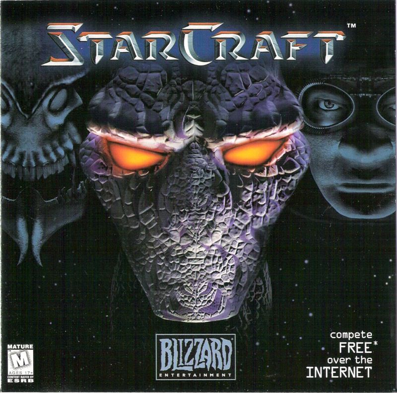 StarCraft Windows Other Jewel Case - Front