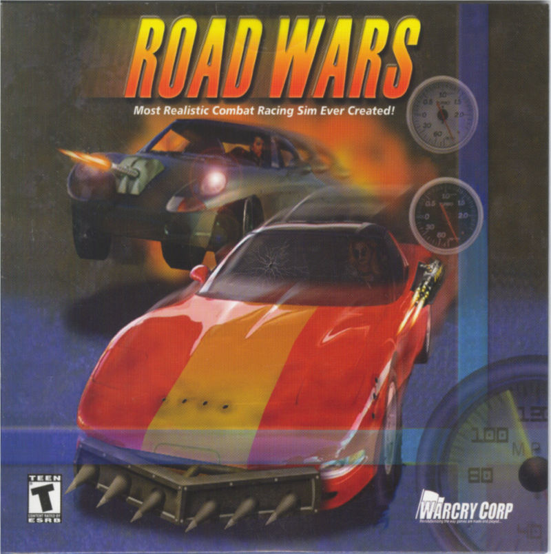 Road Wars 2000 Windows Box Cover Art Mobygames