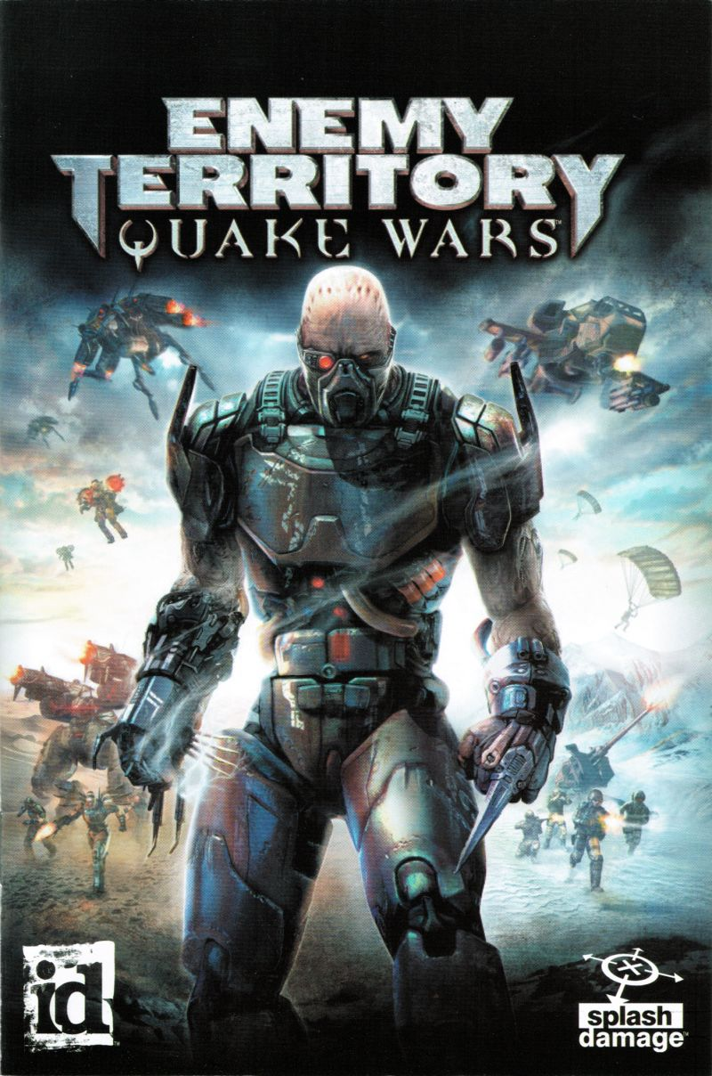 Enemy Territory: Quake Wars Windows Manual Front