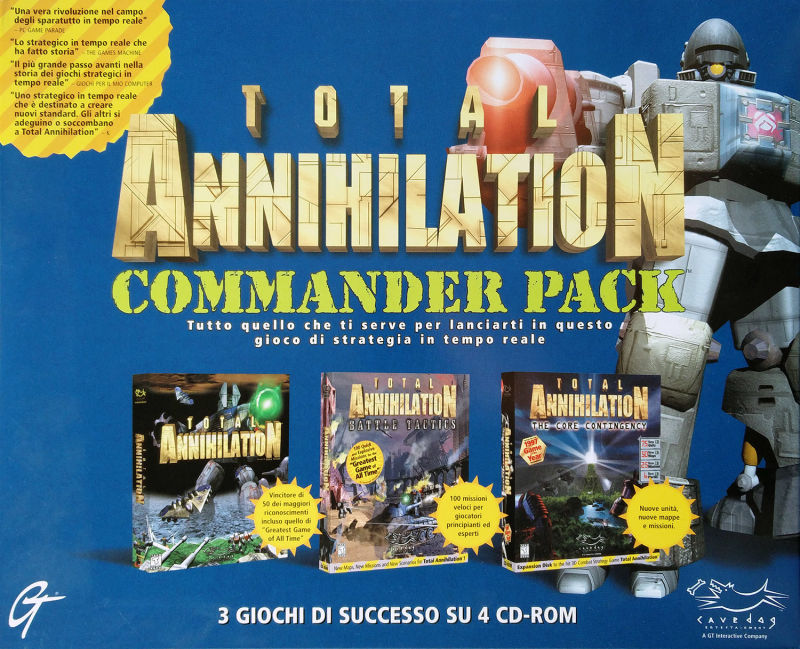 Total Annihilation: Commander Pack Windows Front Cover