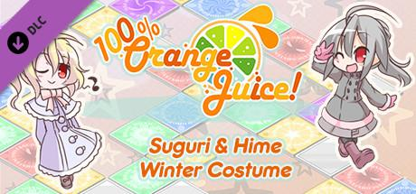 100% Orange Juice: Suguri & Hime Winter Costumes