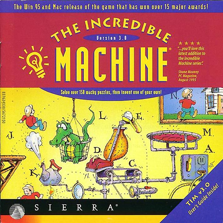 The incredible machine 2 1994 dos box cover art mobygames