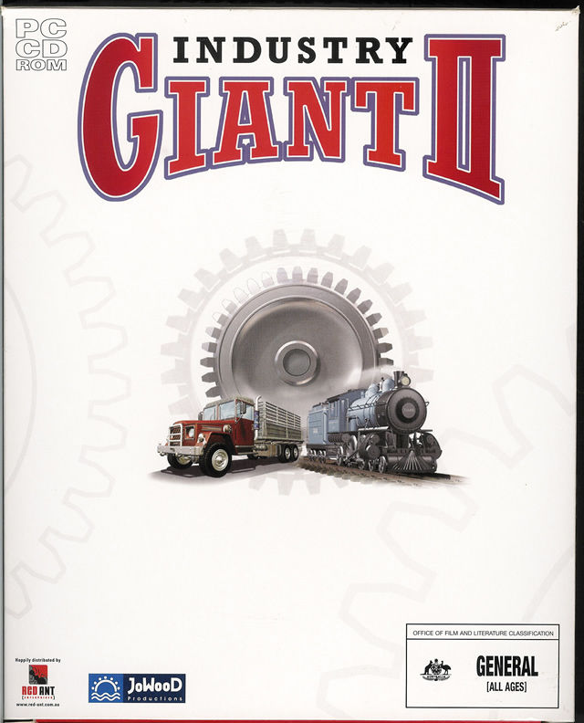 Industry Giant II Windows Front Cover