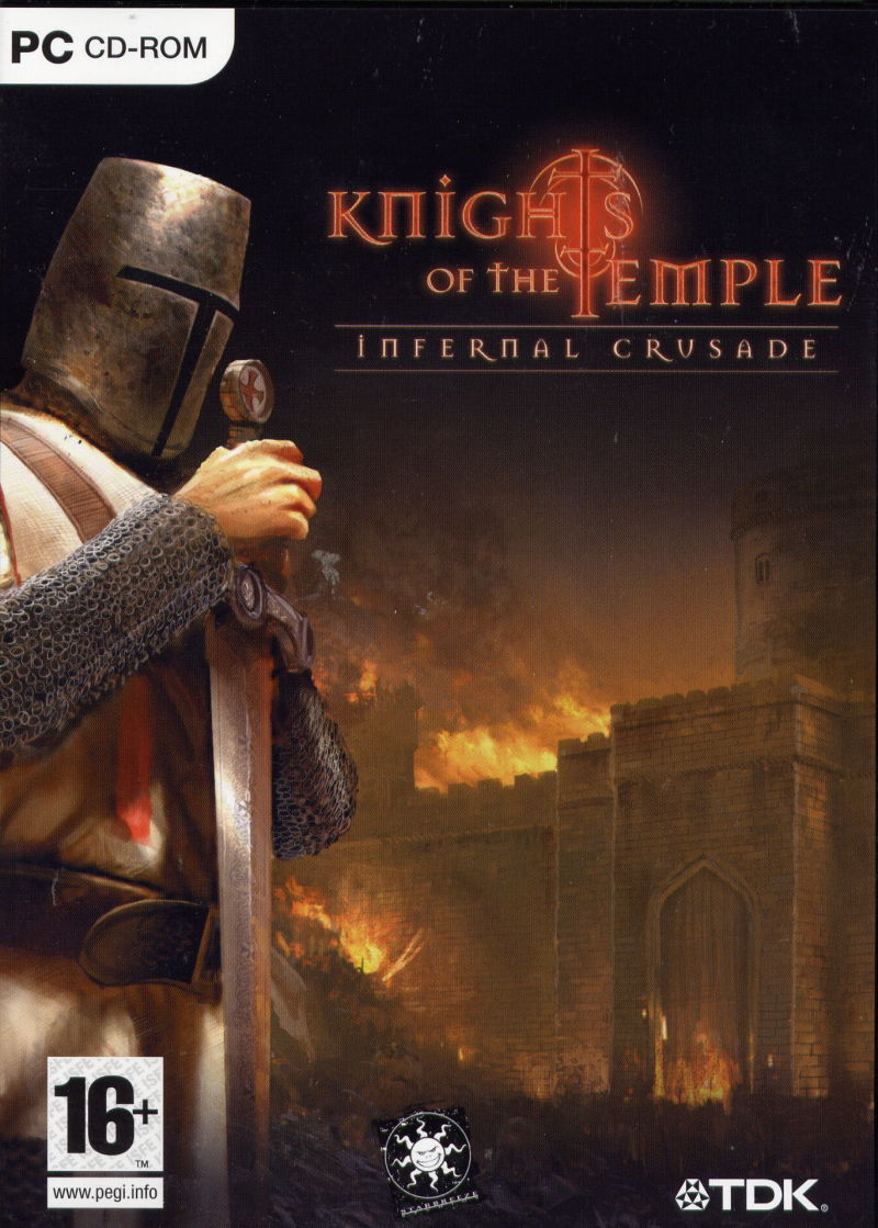 Knights of the Temple: Infernal Crusade Windows Front Cover