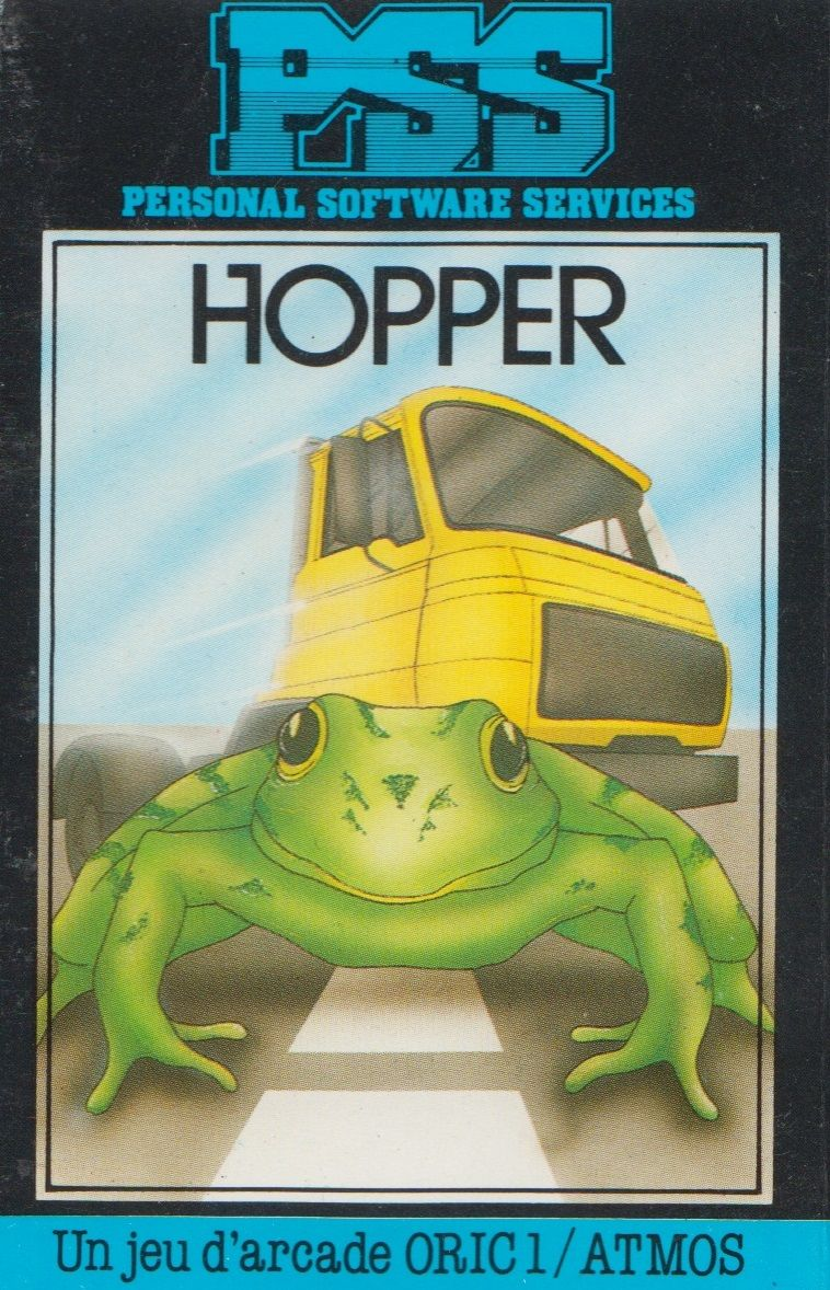 Hopper Oric Front Cover