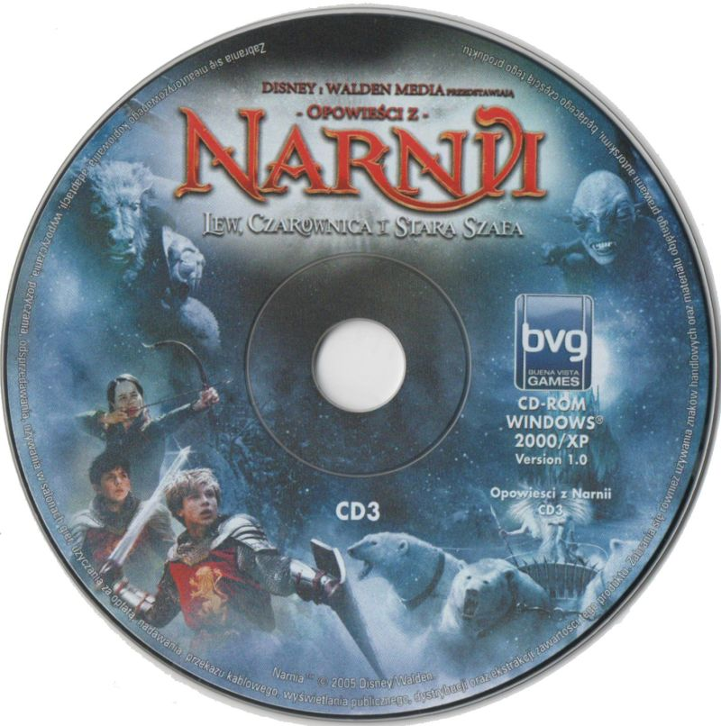 The Chronicles of Narnia: The Lion, the Witch and the Wardrobe Windows Media Disc 3