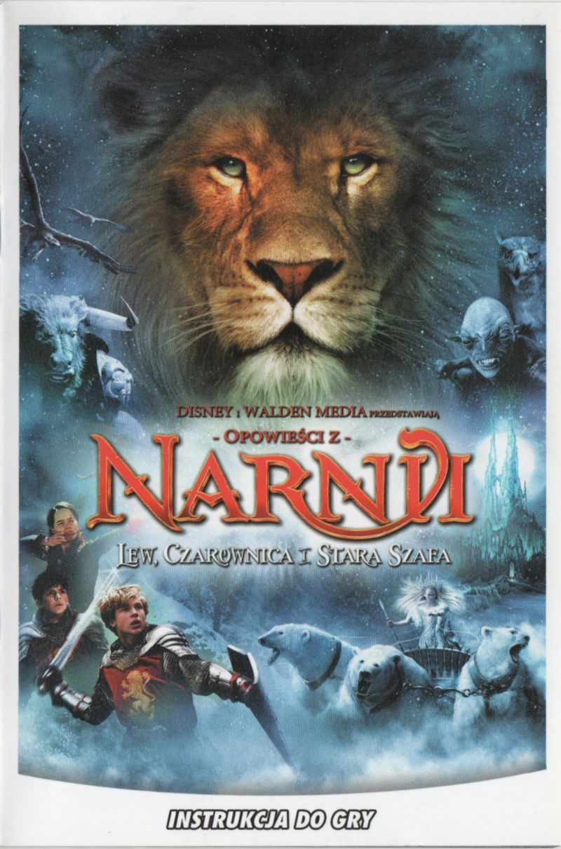The Chronicles of Narnia: The Lion, the Witch and the Wardrobe Windows Manual Front