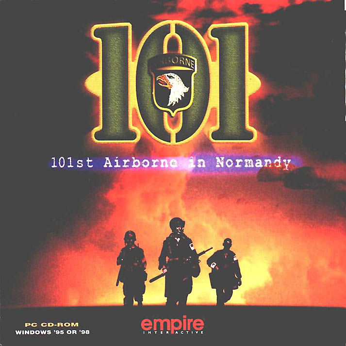 101: The Airborne Invasion of Normandy Windows Front Cover