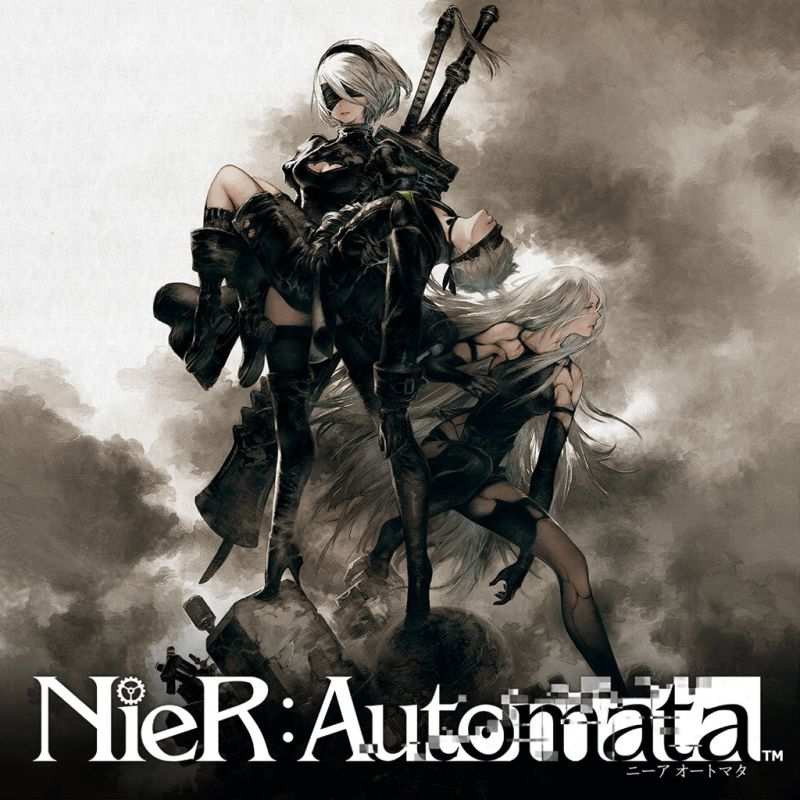 NieR: Automata PlayStation 4 Front Cover