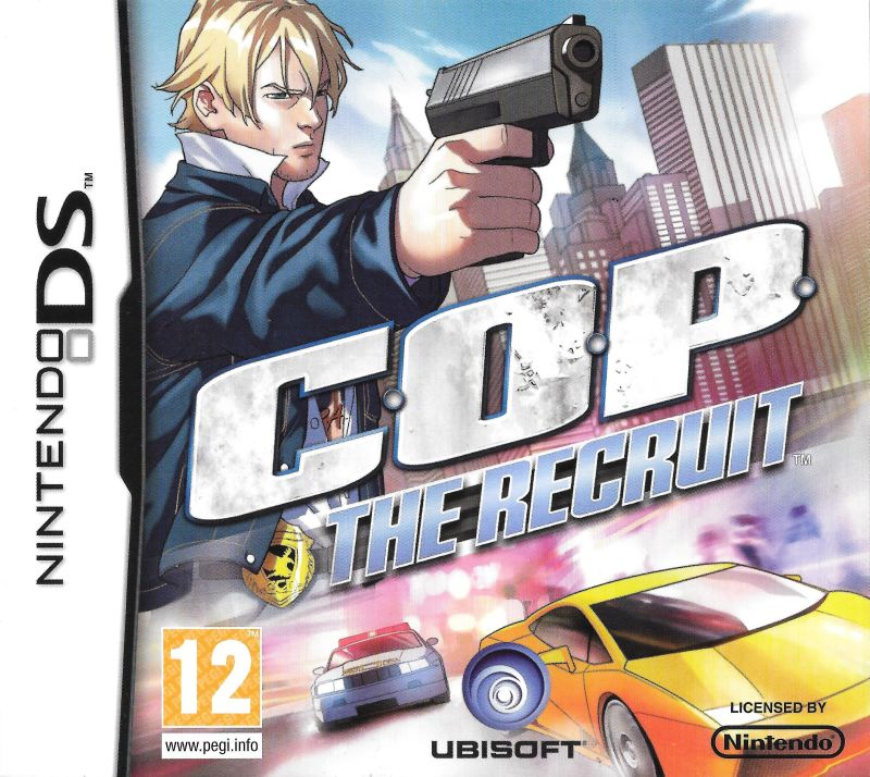 C.O.P.: The Recruit Nintendo DS Front Cover