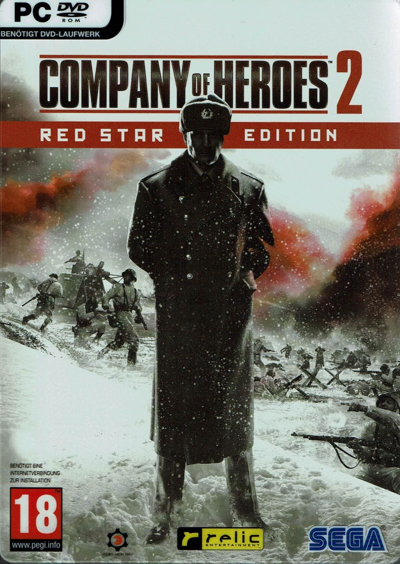 Company Of Heroes 2 Red Star Edition For Windows 2013 Mobygames