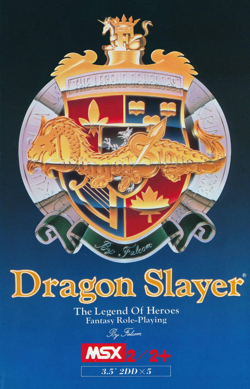 Dragon Slayer: The Legend of Heroes for MSX (1990) MobyRank
