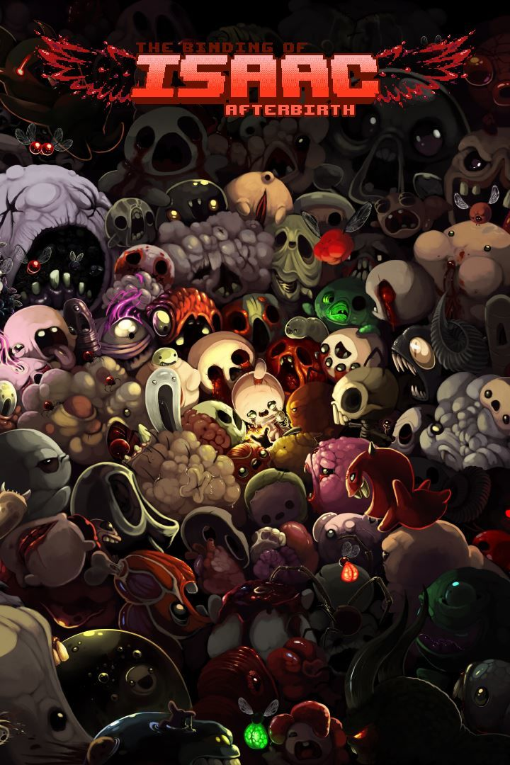The Binding Of Isaac: Afterbirth (2015) Linux Box Cover
