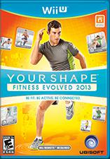 Your Shape: Fitness Evolved 2013 Wii U Front Cover