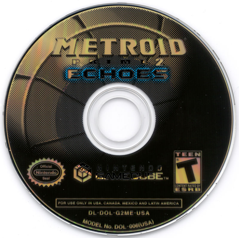 Metroid Prime 2: Echoes GameCube Media