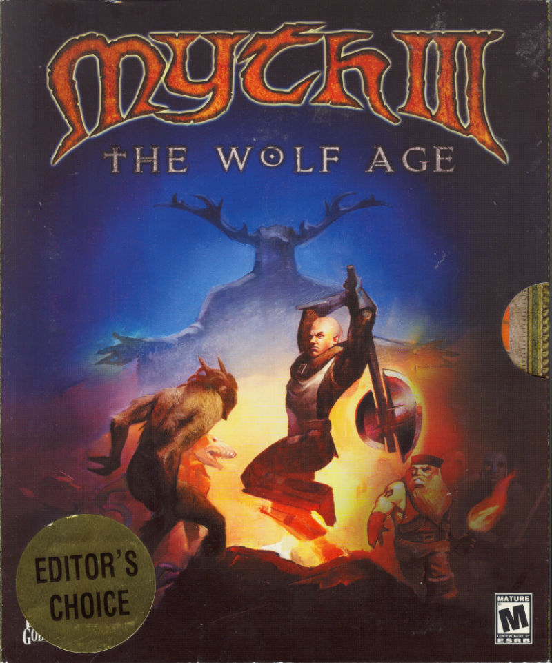 Myth III: The Wolf Age Windows Front Cover