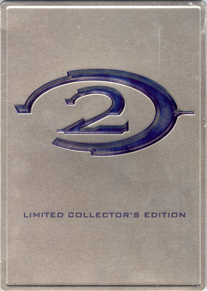 Halo 2 (Limited Collector's Edition) Xbox Other Tin Case - Front