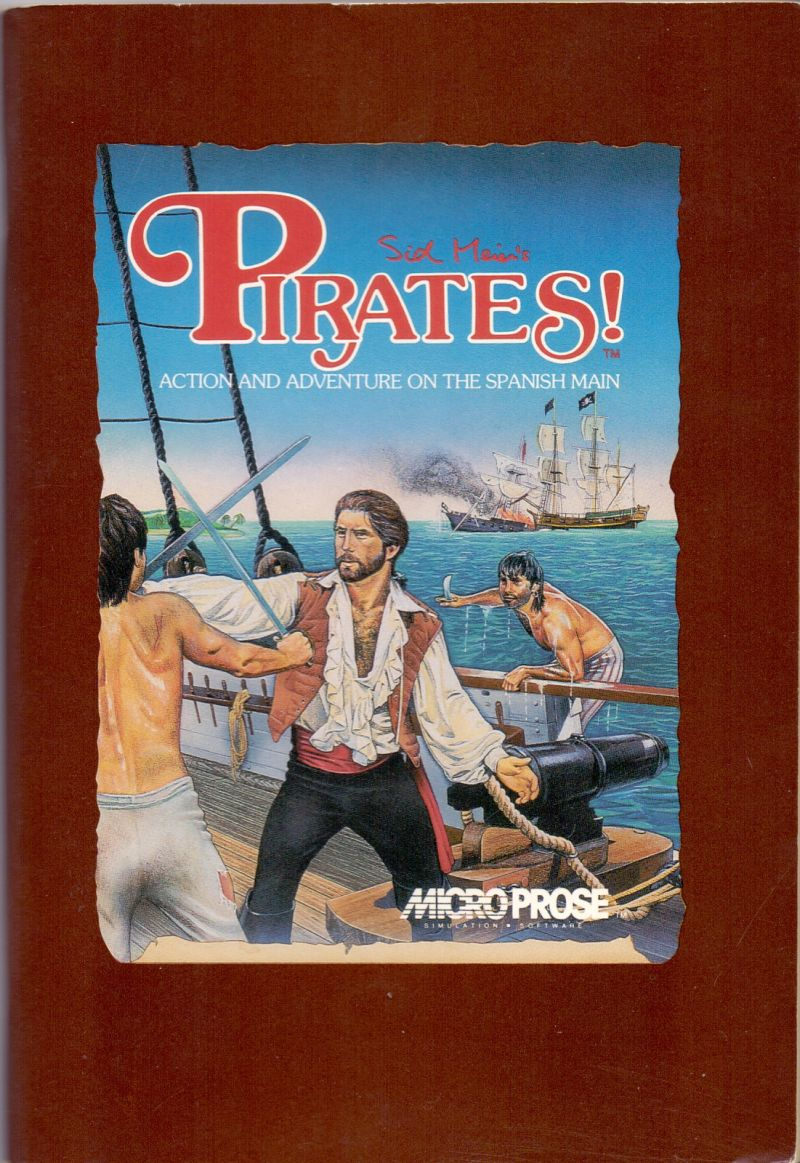 Sid Meier's Pirates! PC Booter Manual Front