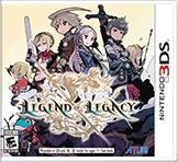 The Legend of Legacy Nintendo 3DS Front Cover