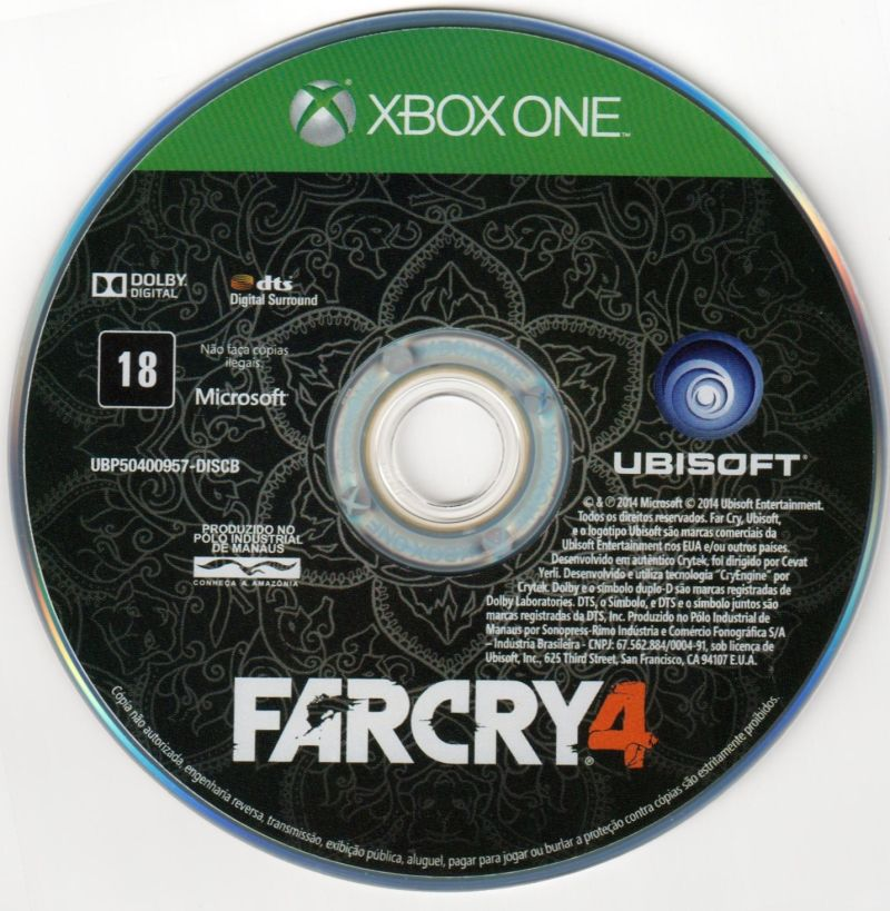 far cry 4 2014 playstation 3 box cover art mobygames. Black Bedroom Furniture Sets. Home Design Ideas