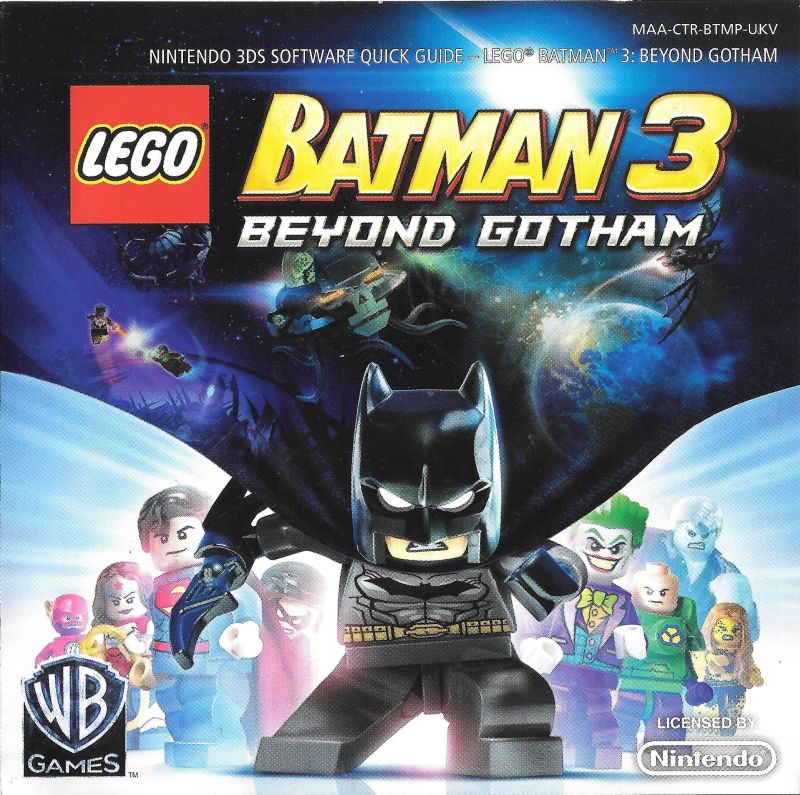batman nintendo 3ds